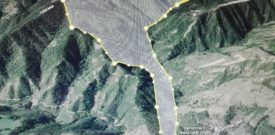 Acquacheta - Mappa indicativa sentieri 407 - 409